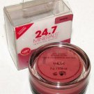 24.7 Minerals Anti-Aging Mineral Blush MAUVE Clinically Proven $25 MSRP Packaged