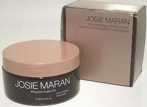 Damaged Box Josie Maran VANILLA BEAN Whipped Argan Oil Body Butter 8 oz New