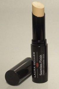Laura Geller Seamless Finish Cream Concealer Stick in LIGHT Full Size No Box $23