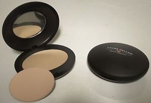 Lot of 2 Laura Geller LIGHT Baked Elements Oval Foundation Full Size No Box $82