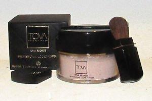 Tova Secrets Professional Loose Powder Translucent Full Size 1.3 oz/37g w/Brush