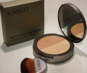 Cargo Hybrid Touch-Up Powder 2-in-1 Bronzer & Pressed Powder w/Brush 9g/.31oz