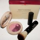 Laura Geller Baked Flambe Blush SUGAR PLUM 5g w/Retractable Powder Brush Boxed