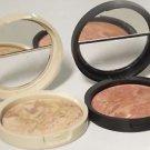 Laura Geller MEDIUM Balance N Brighten Baked Foundation Full Size w/Blush Choice