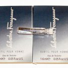 2pcs Subtil Pour Homme by Salvatore Ferragamo for Men EDT Sample Vials