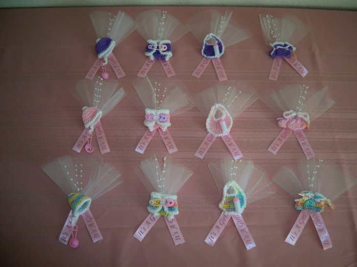 Wonderful SET OF 12 GIRL BABY SHOWER PINS