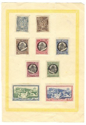 Vatican City Stamps circa 1940s
