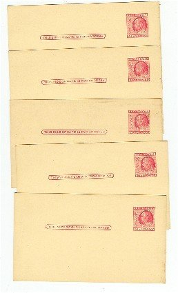 2 Cent Postal Card Quantity 5 for the price