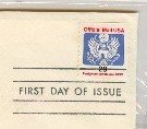 Penalty Mail 29 cent Stamp Coil FDI SC O145 First Day Issue