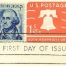 Orange Liberty Bell 1 6/10 cent Envelope FDI SC U548A First Day Issue