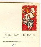 Magna Carta Settlement of Florida 5 cent Stamp FDI SC 1271 First Day Issue