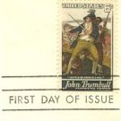 John Trumbull 6 cent Stamp FDI SC 1361 First Day Issue