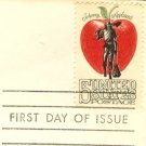 Johnny Appleseed 5 cent Stamp American Folklore Issue FDI SC 1317 First Day Issue