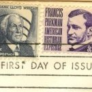 Francis Parkman 3 cent Stamp Prominent Americans Issue FDI SC 1281 First Day Issue