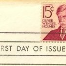 Oliver Wendell Holmes 15 cent Stamp Prominent Americans Issue FDI SC 1288 First Day Issue