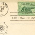 Fort Sumter 4 cent Stamp Civil War Centennial Issue FDI SC 1178 First Day Issue