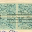 Annapolis Tercentenary 3 cent Stamp Block of 4 FDI SC 984 First Day of Issue