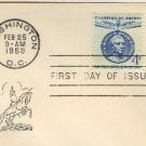 Jose de San Martin 4 cent Stamp Champion of Liberty Issue FDI SC 1125 First Day Issue