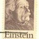 Albert Einstein 15 cent Stamp FDI SC 1774 First Day Issue