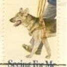 Seeing for Me Guide Dog 15 cent Stamp FDI SC 1787 First Day Issue