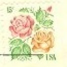 Roses 15 cent Stamp FDI SC 1978 First Day Issue