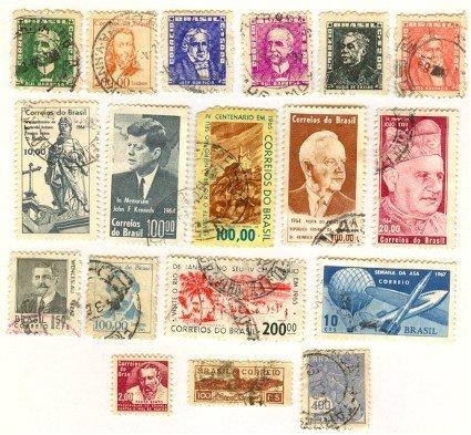 Brazil 18 stamps
