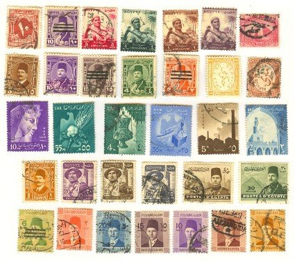 Egypt  33 stamps Packet Number 1360