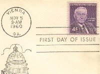 Senator Walter F George 4 cent Stamp FDI SC 1170 First Day Issue