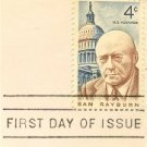 Sam Rayburn 4 cent Stamp FDI SC 1202 First Day Issue