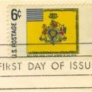 Philadelphia Light Horse Flag 6 cent Stamp FDI SC 1353 First Day Issue