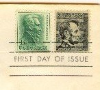 Abraham Lincoln 4 cent Stamp FDI SC 1282 First Day Issue