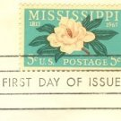 Mississippi 5 cent Stamp FDI SC 1337 First Day Issue