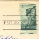 New Hampshire 3 cent Stamp FDI SC 1068 First Day Issue