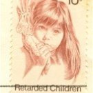Retarded Children 10 cent Stamp FDI SC 1549 First Day Issue