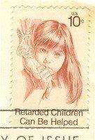 Retarded Children 10 cent Stamp FDI SC 1549 First Day Issue