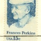 Frances Perkins 15 cent Stamp FDI SC 1821 First Day Issue