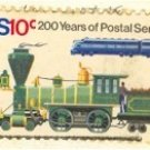 Old and New Locomotives 10 cent Stamp Postal Bicentennial Issue FDI SC 1573 First Day Issue