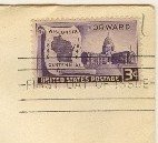 Wisconsin Statehood 3 cent Stamp FDI SC 957 First Day Issue