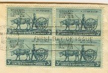 Minnesota Territory 3 cent Stamp FDI SC 981 First Day Issue