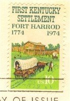 First Kentucky Settlement 10 cent Stamp FDI SC 1542 First Day Issue