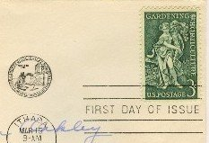 Gardening and Horticulture 3 cent Stamp FDI SC 1100 First Day Issue