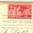 Grand Army of the Republic 3 cent Stamp FDI SC 985 First Day of Issue