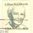 Lillian M Gilbreth 40 cent Stamp Great Americans Issue FDI SC 1868 First Day Issue
