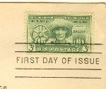 Puerto Rico Election 3 cent Stamp FDI SC 983 First Day Issue