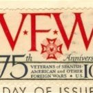 VFW Anniversary 10 cent Stamp Veterans of Foreign Wars FDI SC 1525 First Day Issue