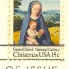 15 cent Virgin and Child with Cherubim Gerard Davis FDI SC 1799 First Day Issue
