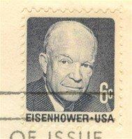 Dwight Eisenhower 6 cent stamp FDI SC 1393 First Day Issue