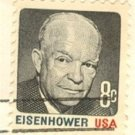 Dwight Eisenhower 8 cent stamp FDI SC 1394 First Day Issue
