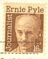 Ernie Pyle Journalist 16 cent stamp FDI SC 1398 First Day Issue