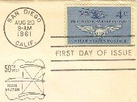 Naval Aviation 50th year Anniversary 4 cent Stamp FDI SC 1185 First Day Issue